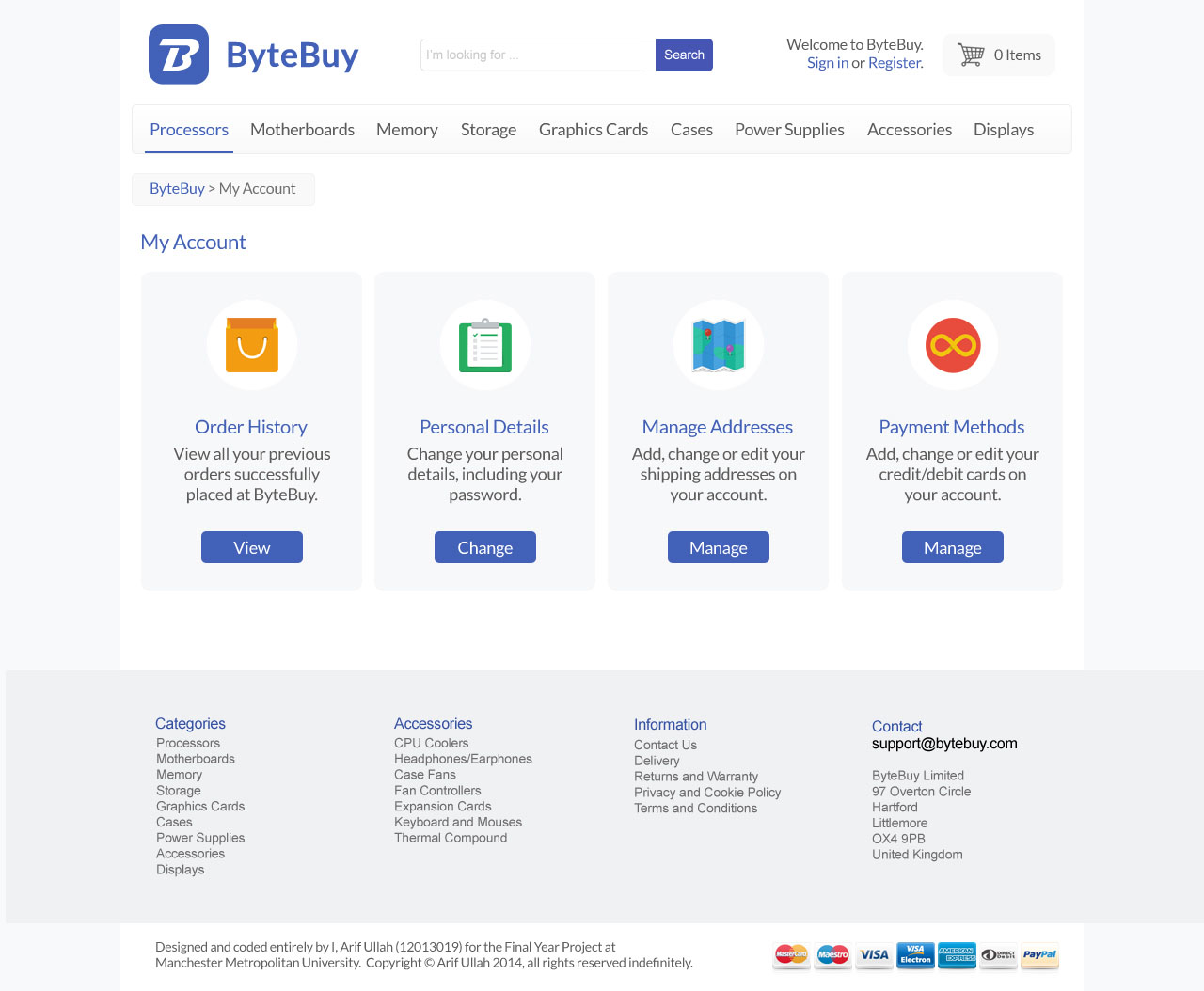 ByteBuy User Account Manager